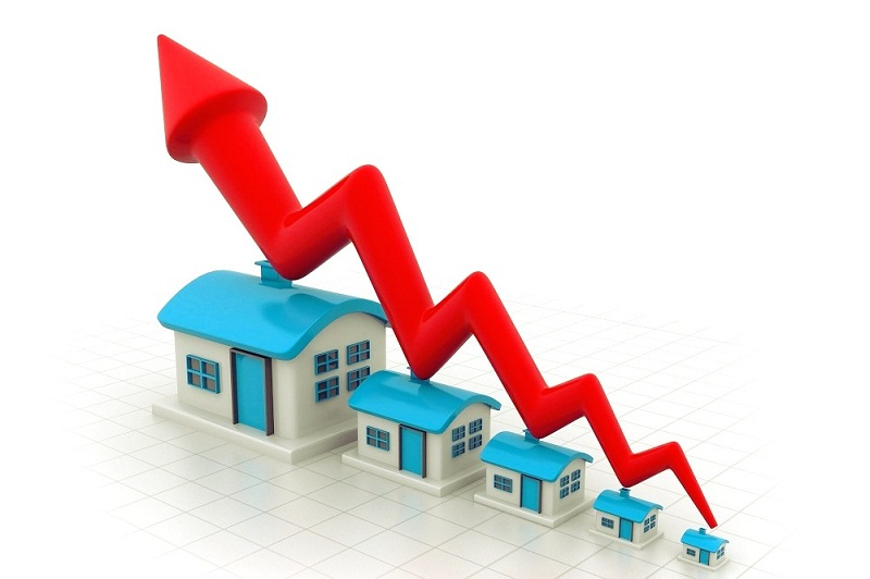 Continuous rise in the property prices